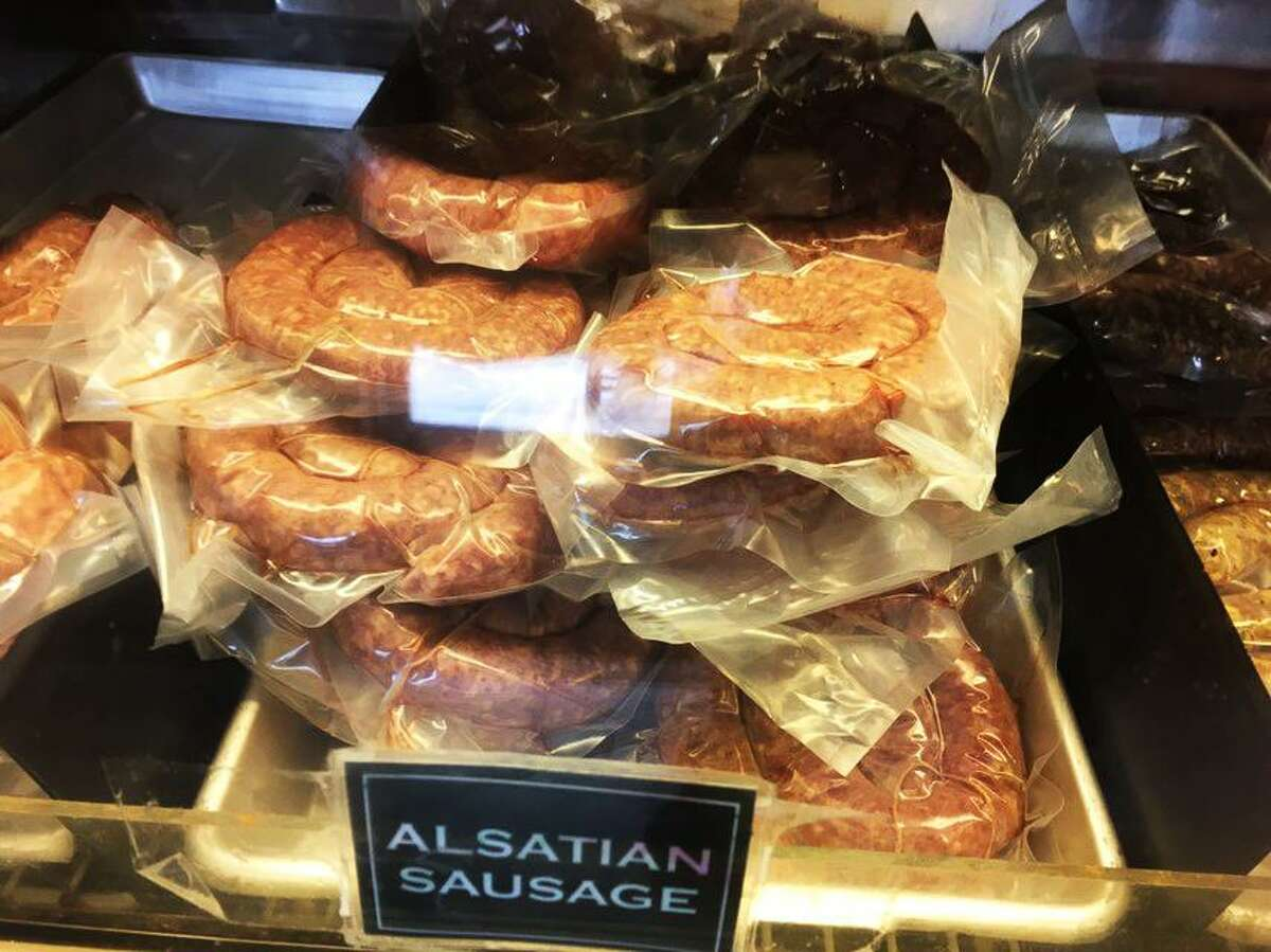 Dziuk's Meat Market has meats that are made with the Alsatian tastes and flavor that Castroville is known for.