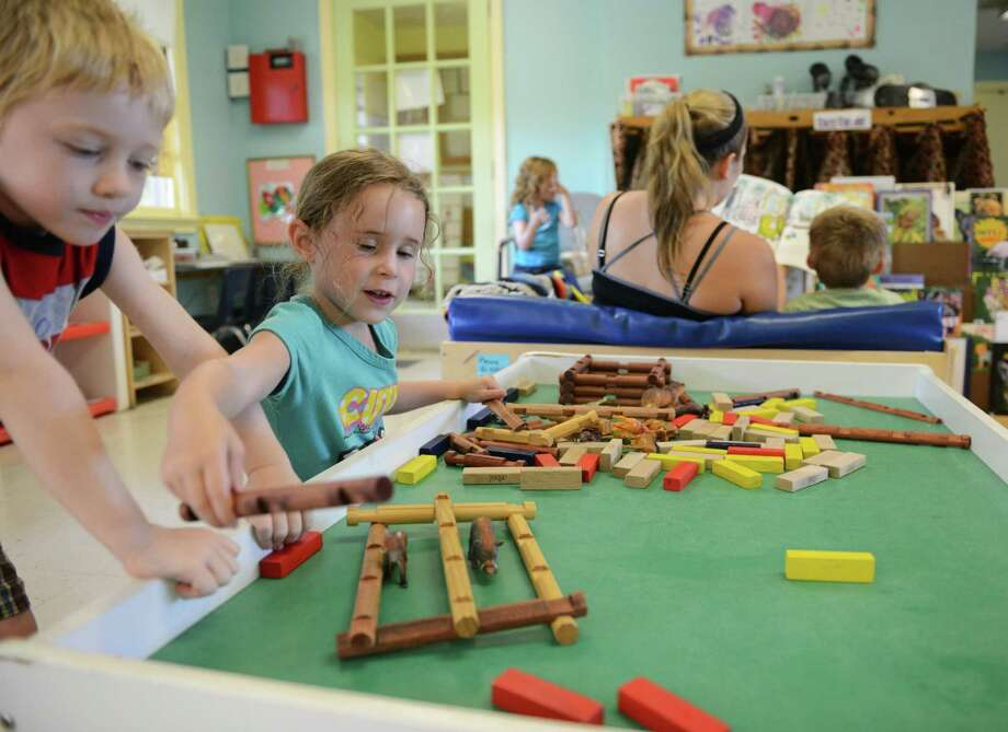 A 2013 file photo of a Newtown daycare center. Photo: Tyler Sizemore / Tyler Sizemore / The News-Times