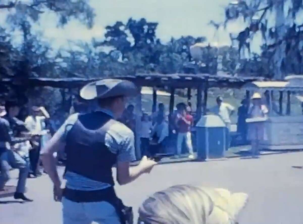 Newfound footage of Six Flags Over Texas in 1962 shows what life was like in the park's early days. The footage is a bit grainy, but viewers can make out some of the more shocking aspects of the park, such as fake bodies hanging from trees. The footage also showsquick clips of rides, playful seals, staged gunfights and the original Skull Island attraction.