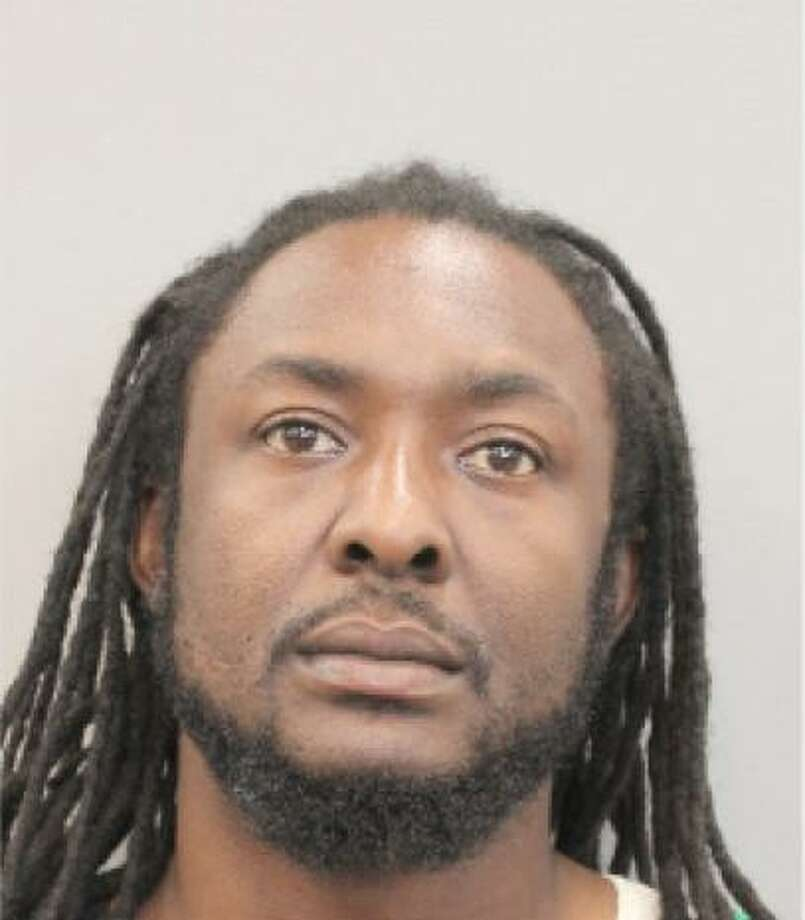 Cardell J. Bassue, 38, is wanted on a felony theft charge allegedly committed at a Conroe car dealership. Photo: Courtesy Of The Conroe Police Department