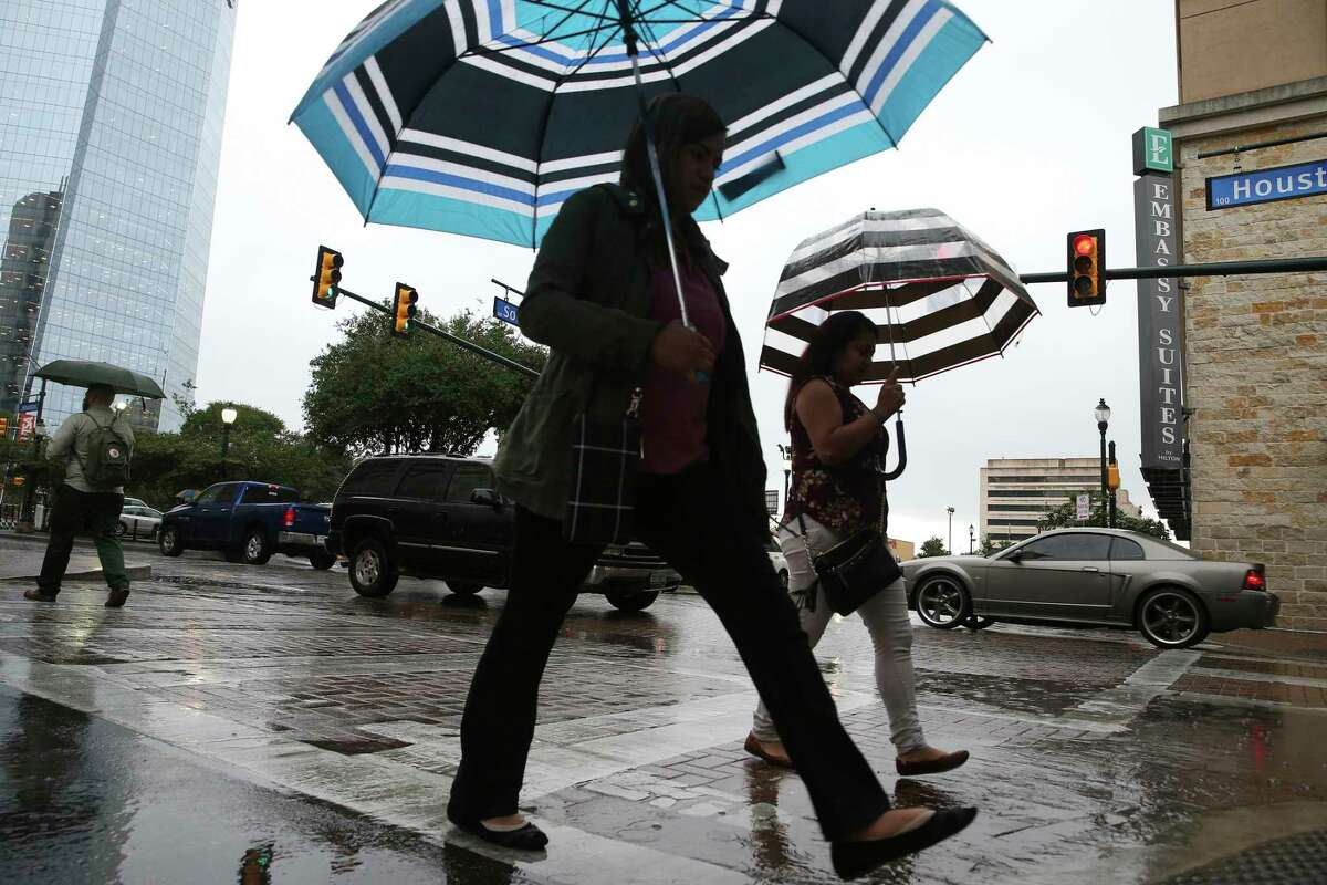 San Antonians, don't put away those umbrellas and rain shoes just yet.