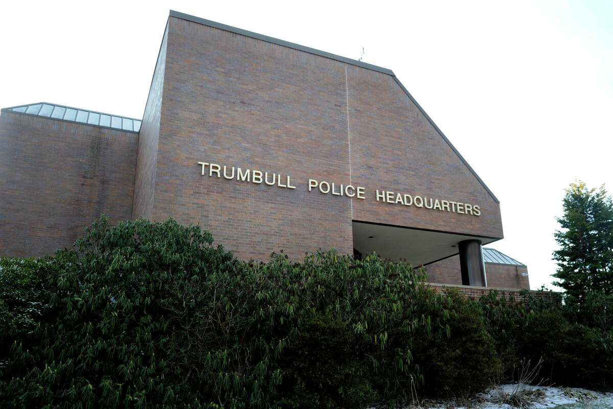 File photo: Trumbull Police Headquarters, in Trumbull, Conn. .