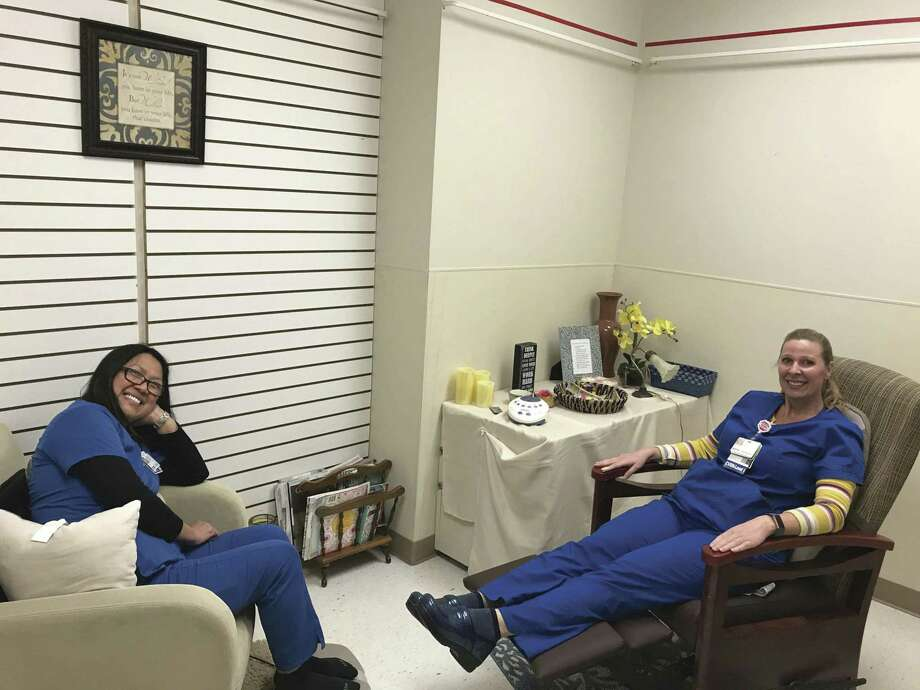 Houston Methodist hospitals' nurses are doing many things to embrace de-stressing their workplace.