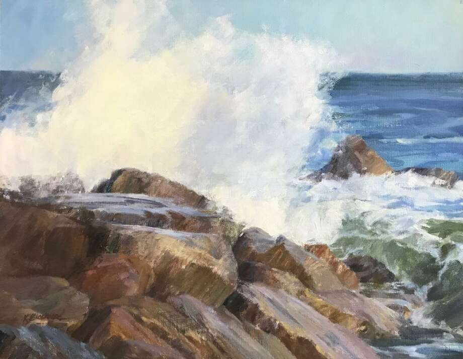 "The Greenwich Art Society presents ""Painting the Essence of the Sea,"" a special workshop with artist Karen Blackwood, June 8 and 9. Photo: Greenwich Art Society / Contributed Photo"