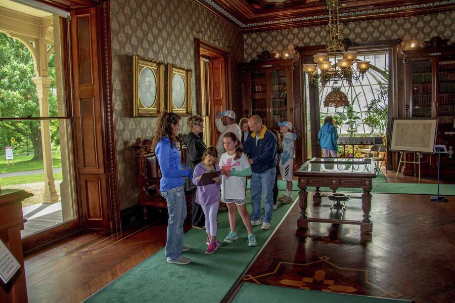 "The Lockwood-Mathews Mansion Museum will launch a ""Treasure Hunters' Adventure,"" in colleaboration with the Center for Contemporary Printmaking and Stepping Stones Museum for Children, on June 2, at Mathews Park in Norwalk. Photo: Sarah Grote / Contributed Photo / Sarah Grote Photo 2018"