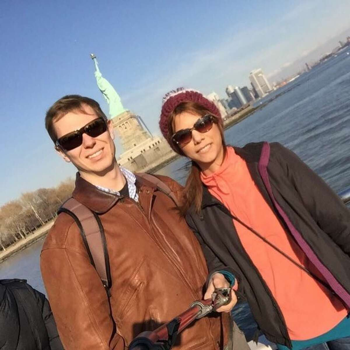 American Brian Swank and Iranian Mehraneh Rayatidamavandi, who met at SUNY Syracuse and got engaged in Poughkeepsie three years ago, can't get a fiance visa to be together in the U.S. because of the travel ban.
