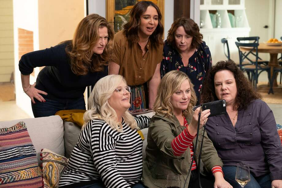 "Production stills from ""Wine Country,"" the new film starring Amy Poehler, Rachel Dratch, Maya Rudolph, Tina Fey and others about a girls' trip to Napa Valley. It streams on Netflix starting May 10. Photo: Colleen Hayes"