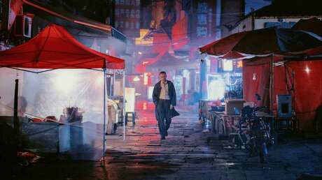 """Huang Jue in the movie """"Long Day's Journey Into Night."""" (Bai Linghai/Kino Lorber)"""