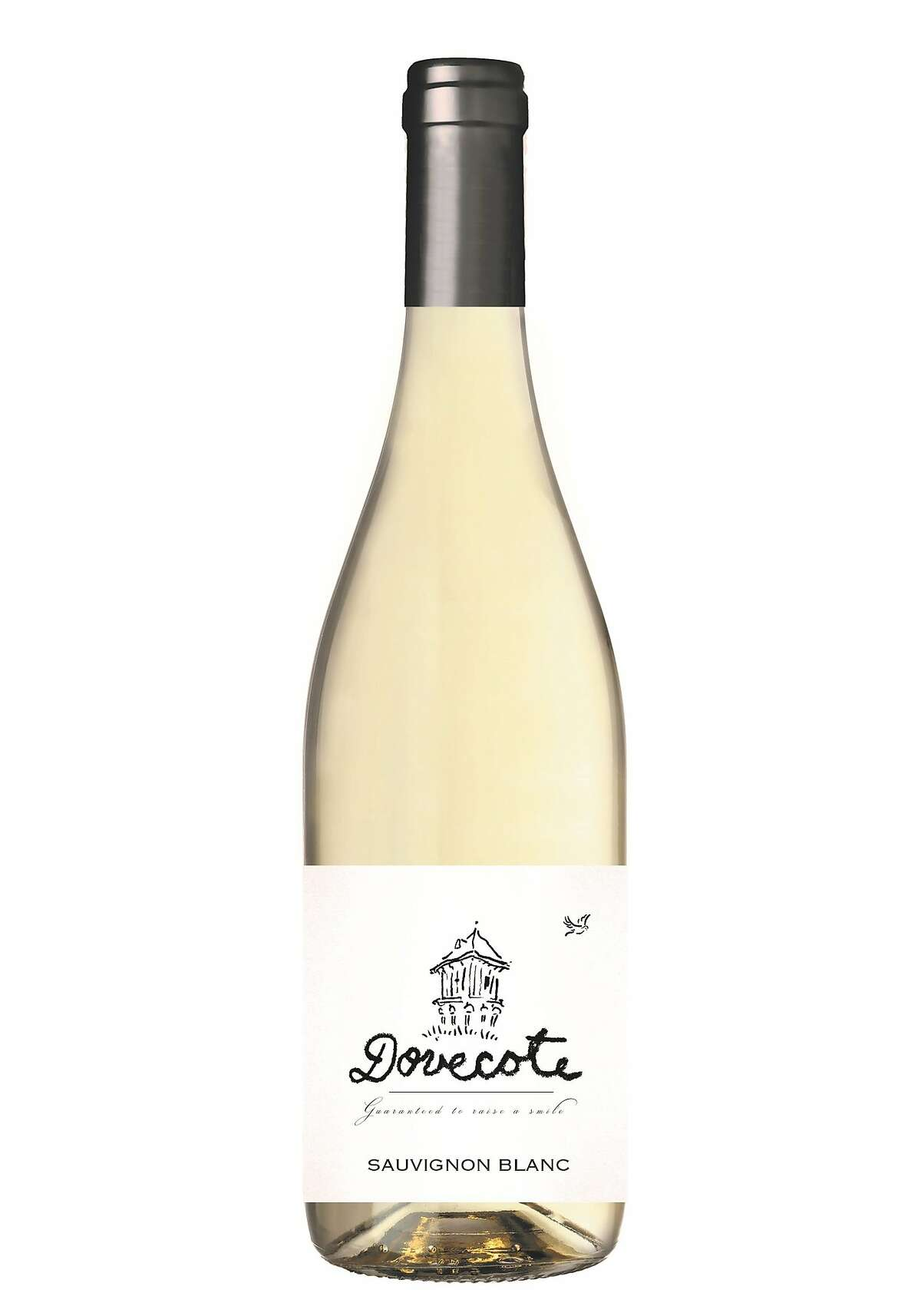 Dovecote C�tes de Gascogne Sauvignon Blanc, a wine made by Steve Lawrence and Diana Lucz. The couple left their jobs in Napa Valley when they bought a vineyard and winery in Bordeaux, France.