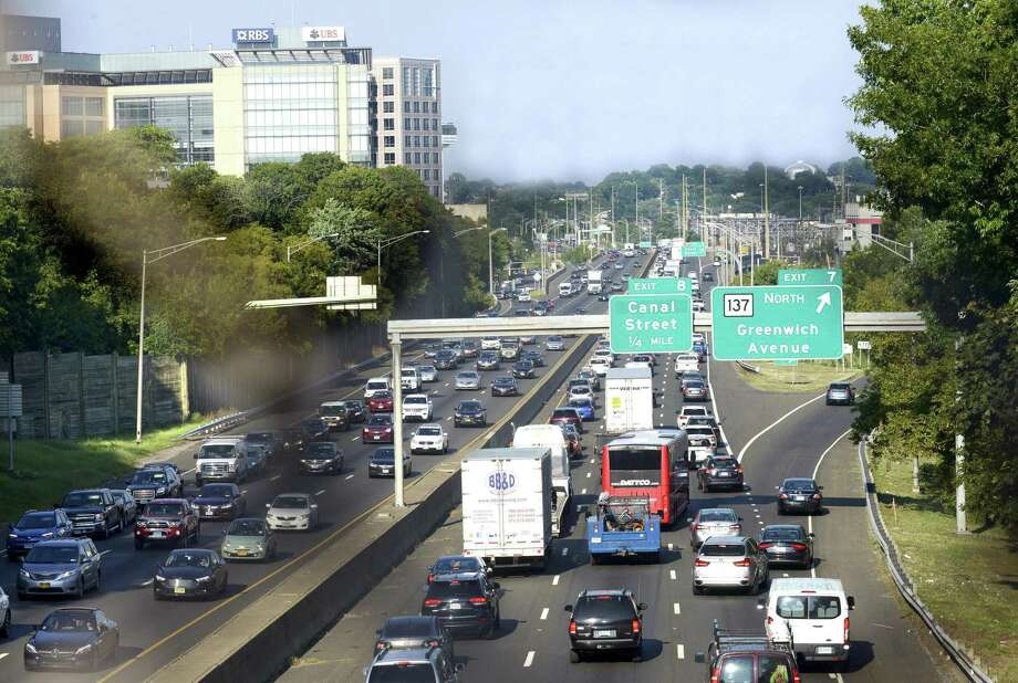 Connecticut lawmakers have less than a month in the legislative session to identify a new transportation funding plan. Photo: Matthew Brown / Hearst Connecticut Media / Stamford Advocate