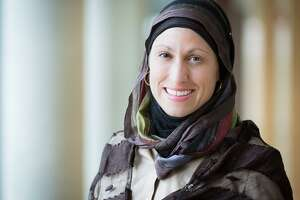 Celene Ibrahim, Muslim chaplain at Tufts University, will lead a program about countering Islamophobia at Mercy by the Sea in Madison on June 15.