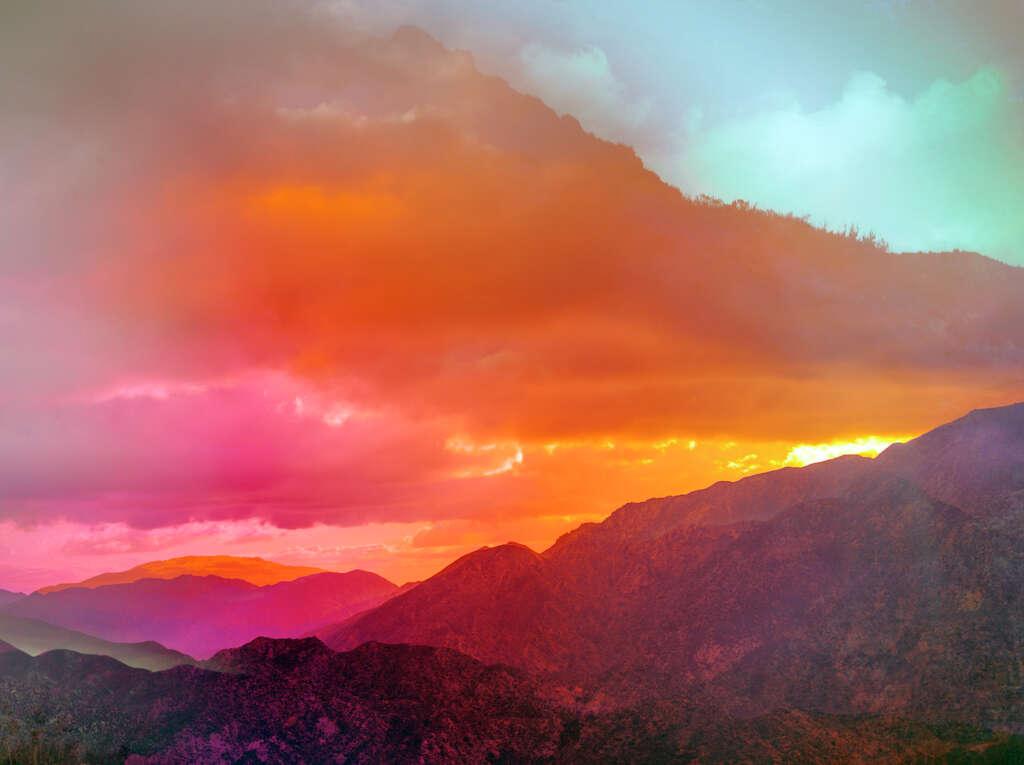 <p>Terri Loewenthal, Pyschscape 66, San Gabriel Peak, Calif., 2018.</p>