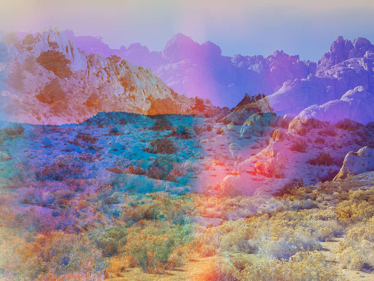 Terri Loewenthal, Pyschscape 18, Banner Ridge, Calif., 2017.