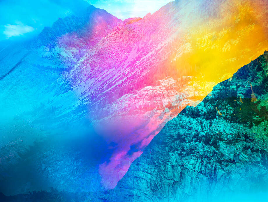 Terri Loewenthal, Pyschscape 20, Tioga Peak, Calif., 2018. Photo: Terri Loewenthal, Psychscape 20 (Tioga Peak, CA) 2018