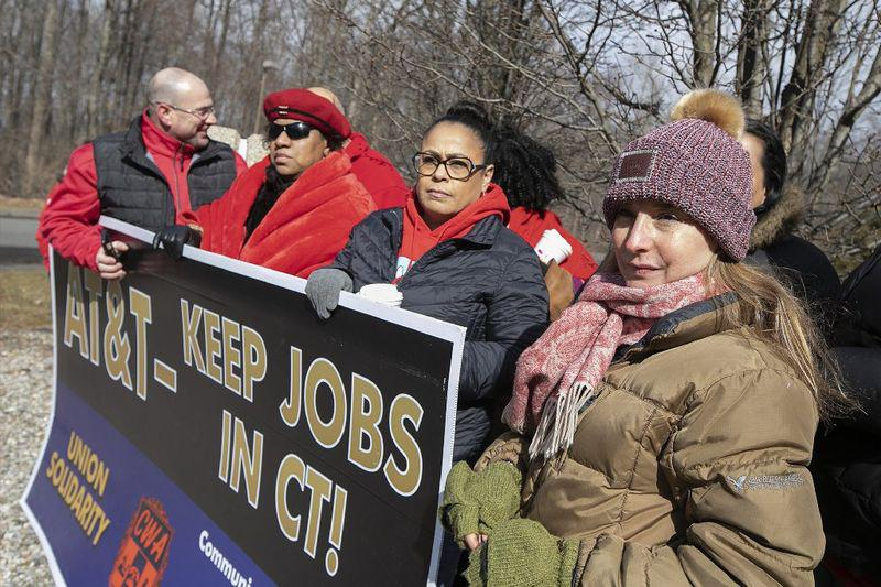 Fight over AT&T jobs reflects broad worker anger