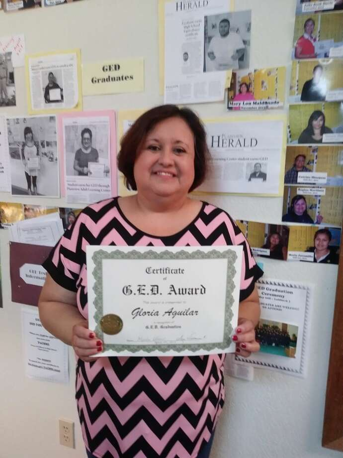 Gloria Aguilar, GED Recipient Photo: Courtesy Photo
