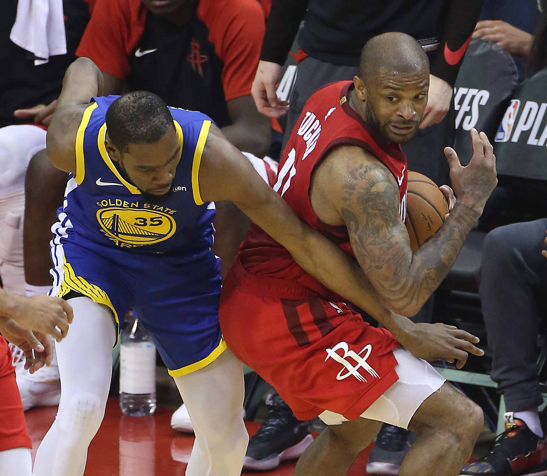 How The Rockets Are Beating The Warriors' 'Death Lineup
