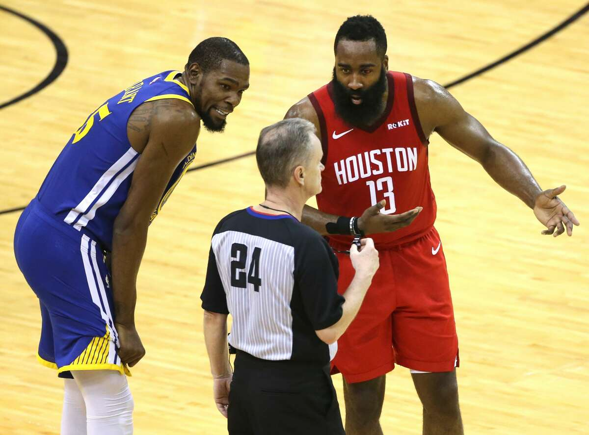 Kevin Durant has relished the ultra-tight series the Rockets and Warriors have waged through four games, with Game 5 coming Wednesday night in Oakland.