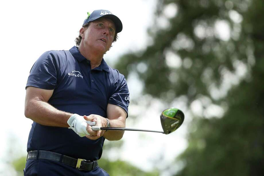 Phil Mickelson, shown earlier this month at the Wells Fargo Championship in Charlotte, has committed to the Travelers Championship. Photo: Streeter Lecka / Getty Images / 2019 Getty Images