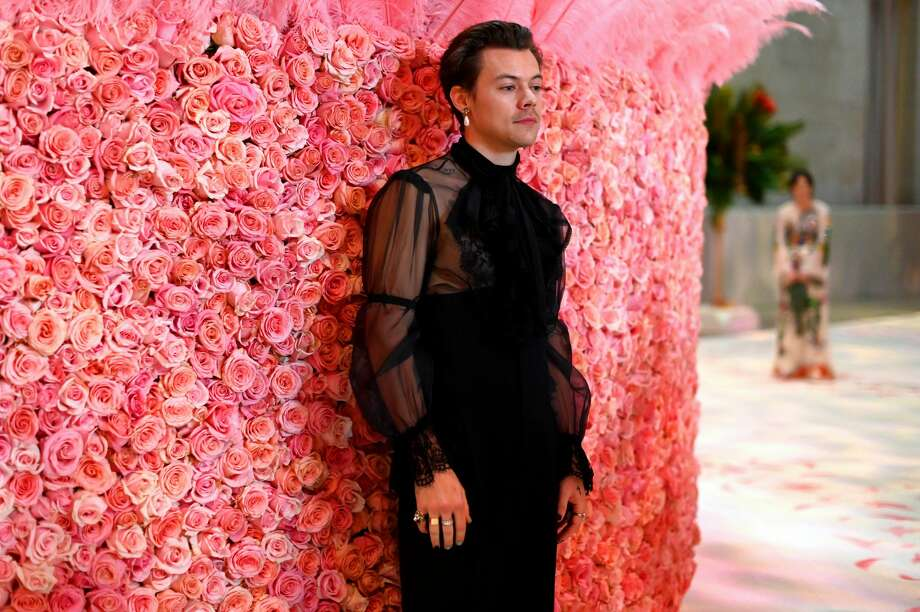 Harry Styles attends The 2019 Met Gala Celebrating Camp: Notes on Fashion at Metropolitan Museum of Art on May 06, 2019 in New York City. Photo: Matt Winkelmeyer/MG19/Getty Images For The Met Museum/