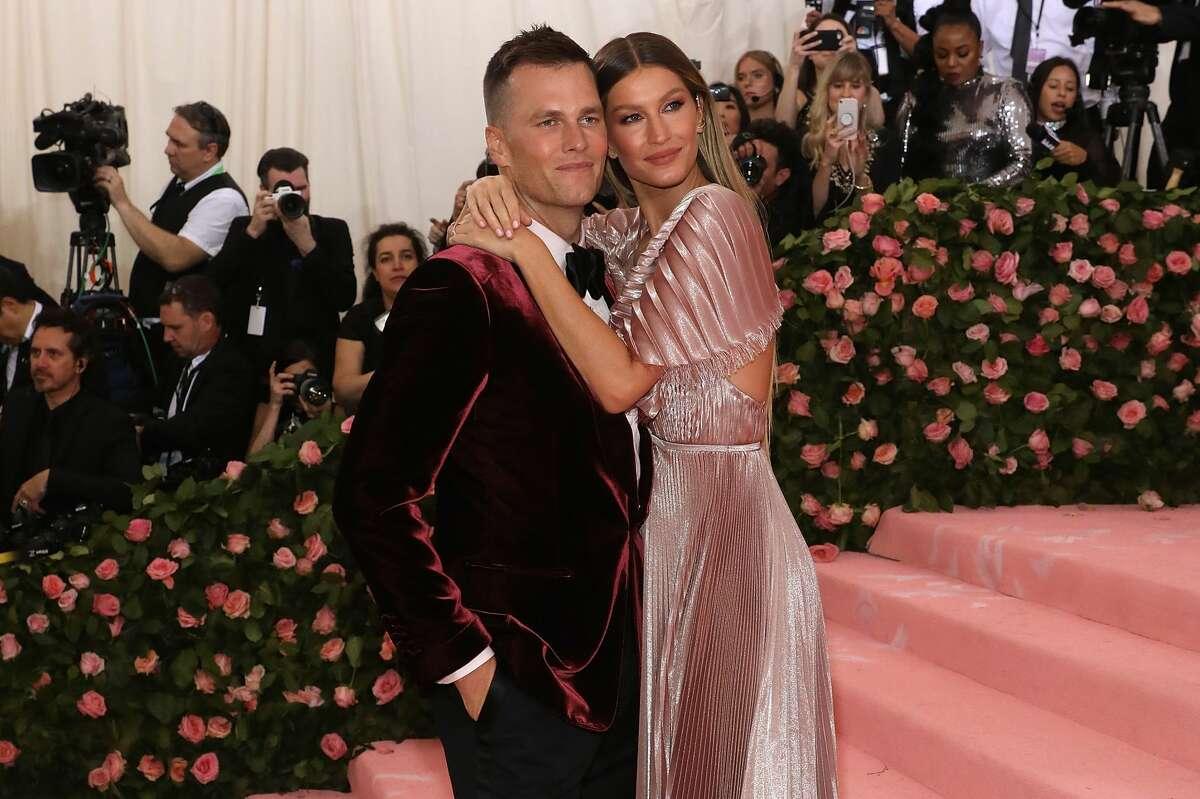 NEW YORK, NY - MAY 06: Gisele Bundchen and Tom Brady attend the 2019 Met Gala celebrating
