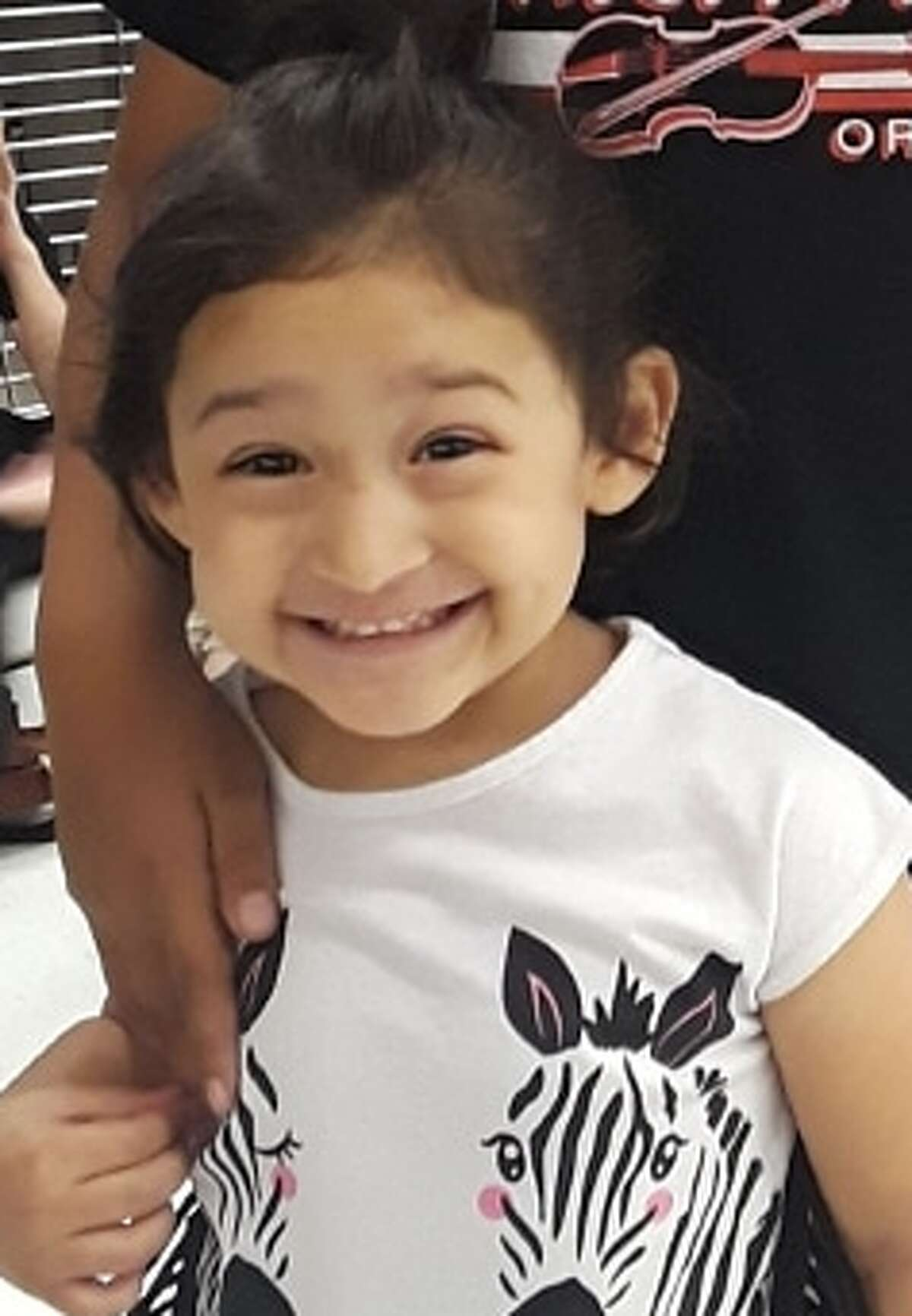 Police are searching for Zanyah Lucio, a 3-year-old girl who authorities say was abducted on May 6, 2019.