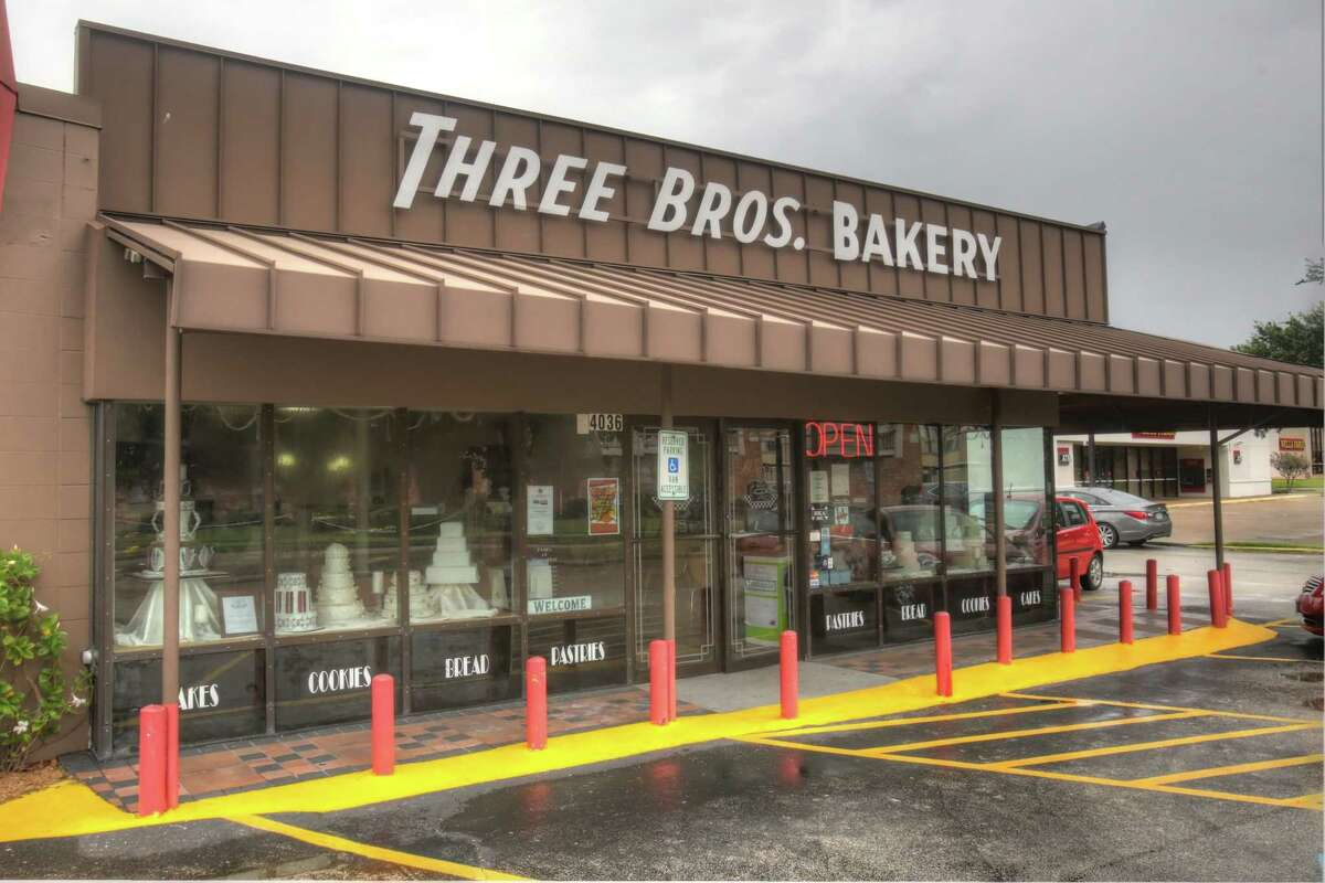 Exterior shot of Three Brothers Bakery, which will mark its 70th anniversary on May 8, 2019.
