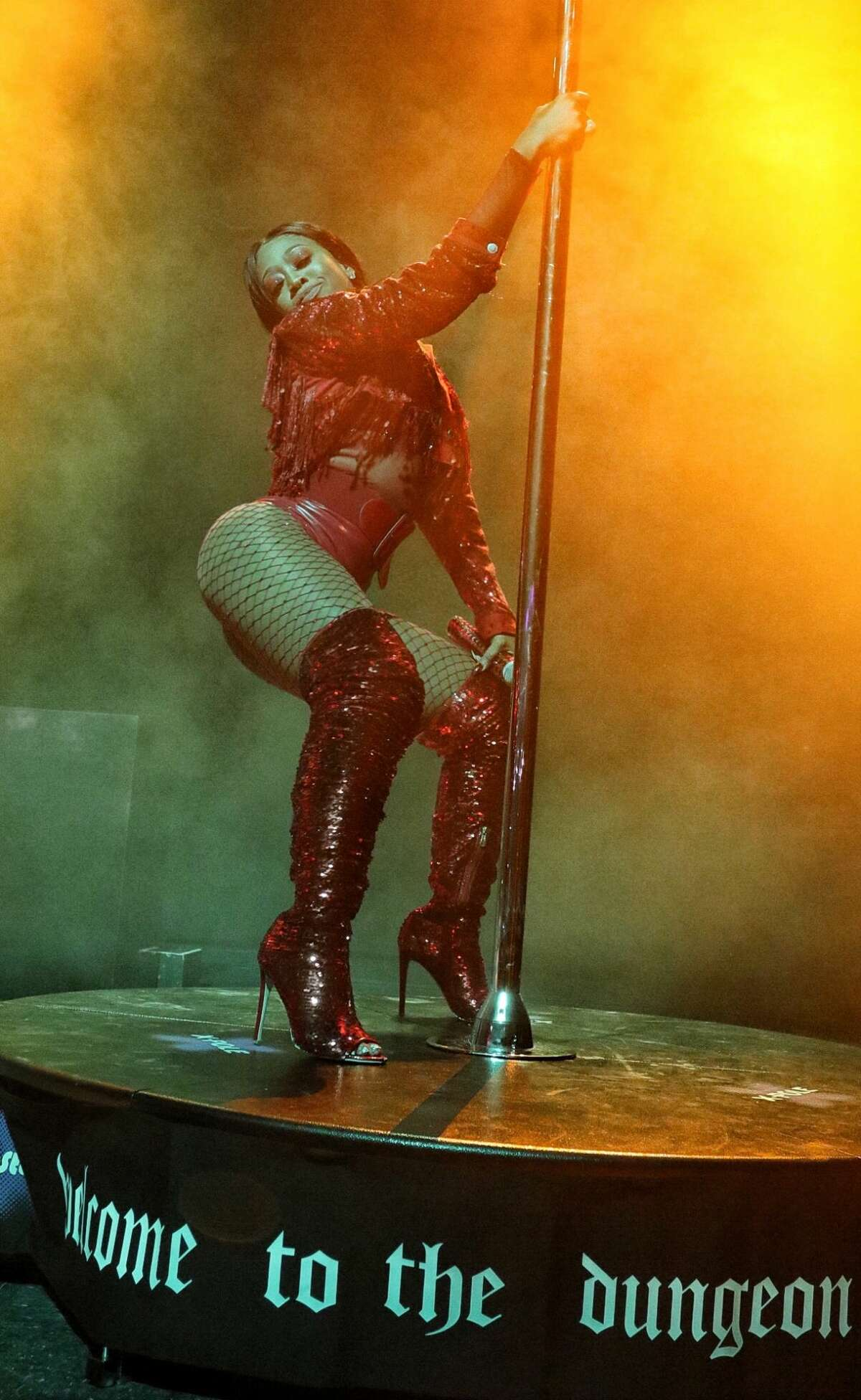 """Kandi Burruss is bringing her """"Welcome to the Dungeon"""" burlesque show to Houston."""