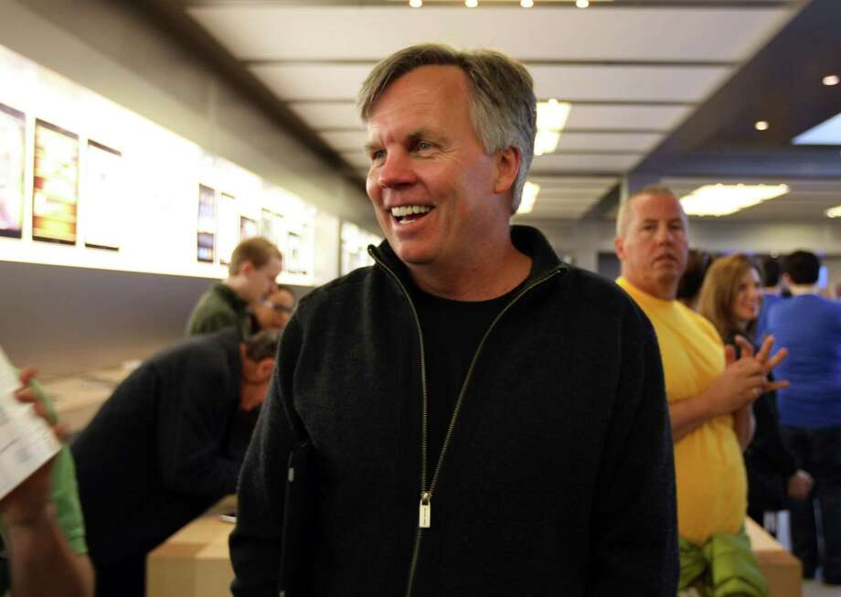 Ron Johnson attends the release of the iPad at an Apple store in New York on April 3, 2010. Photo: Bloomberg Photo By Jin Lee / Bloomberg