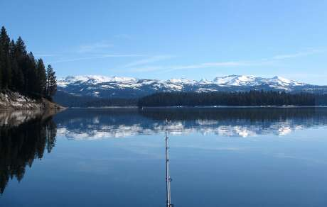 The snow has melted off around Union Valley Reservoir in the Crystal Basin and nine campgrounds here will open for Memorial Day Weekend