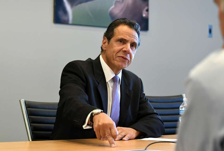 The legalization of marijuana is a priority of Gov. Andrew M. Cuomo as the June 19 end of the legislative session is nearing, but he is preemptively casting doubt on whether the measure can make its way through the state Senate. ( Times Union archive )