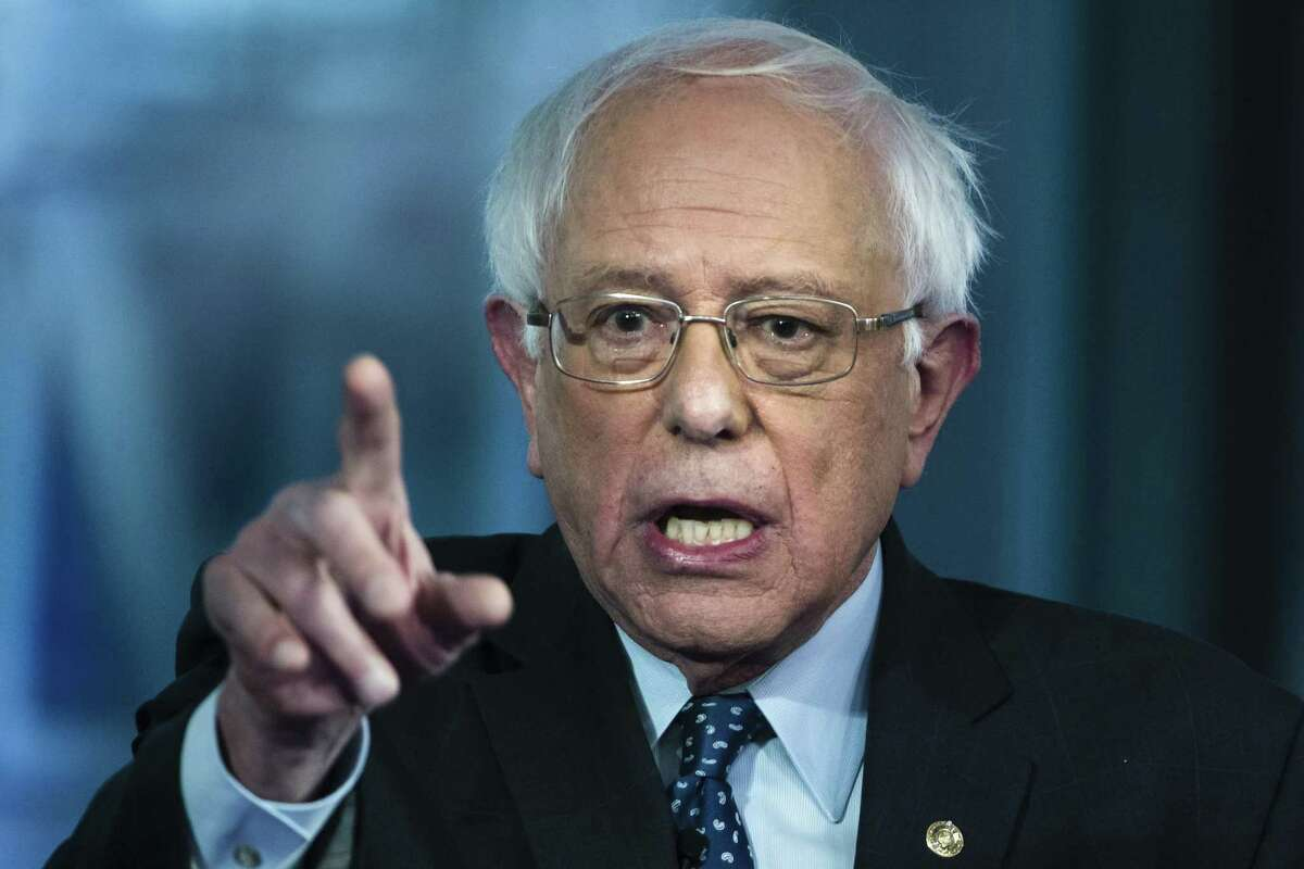 Sen. Bernie Sanders, I-Vt., takes part in a Fox News town-hall style event in Bethlehem, Pa. Democratic presidential contenders are facing a new debate over whether criminals in prison - even notorious ones like the Boston Marathon bomber - should be able to win back their right to vote. Sanders says they should.