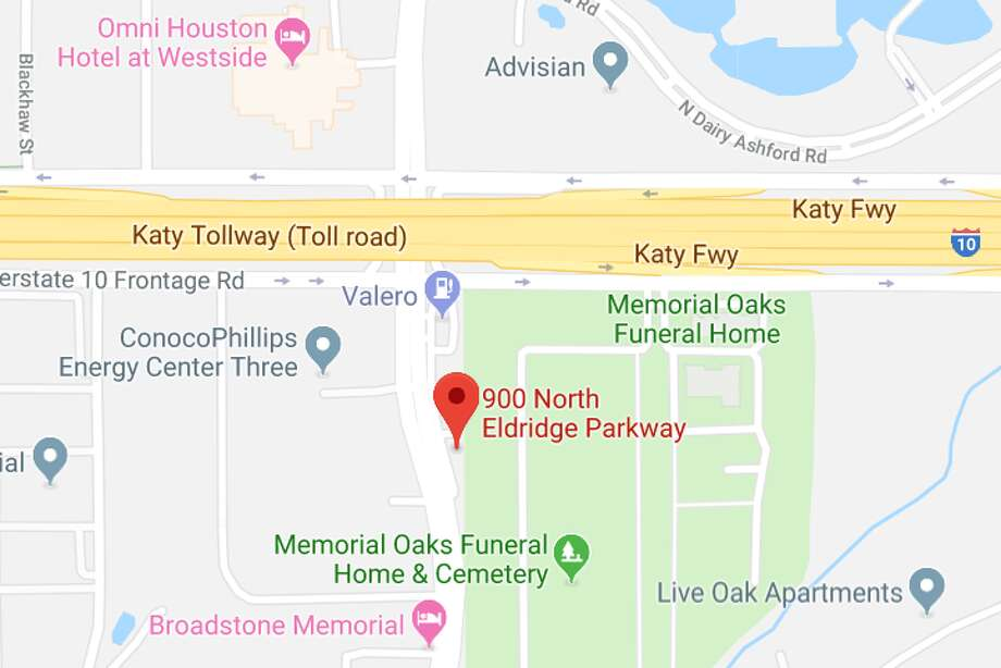 Deshawn Fortee Brown charged with felony murder after a crash on Sunday in the 900 block of Eldridge Parkway that killed 19-year-old Devin Malik Francis. Photo: Google Maps