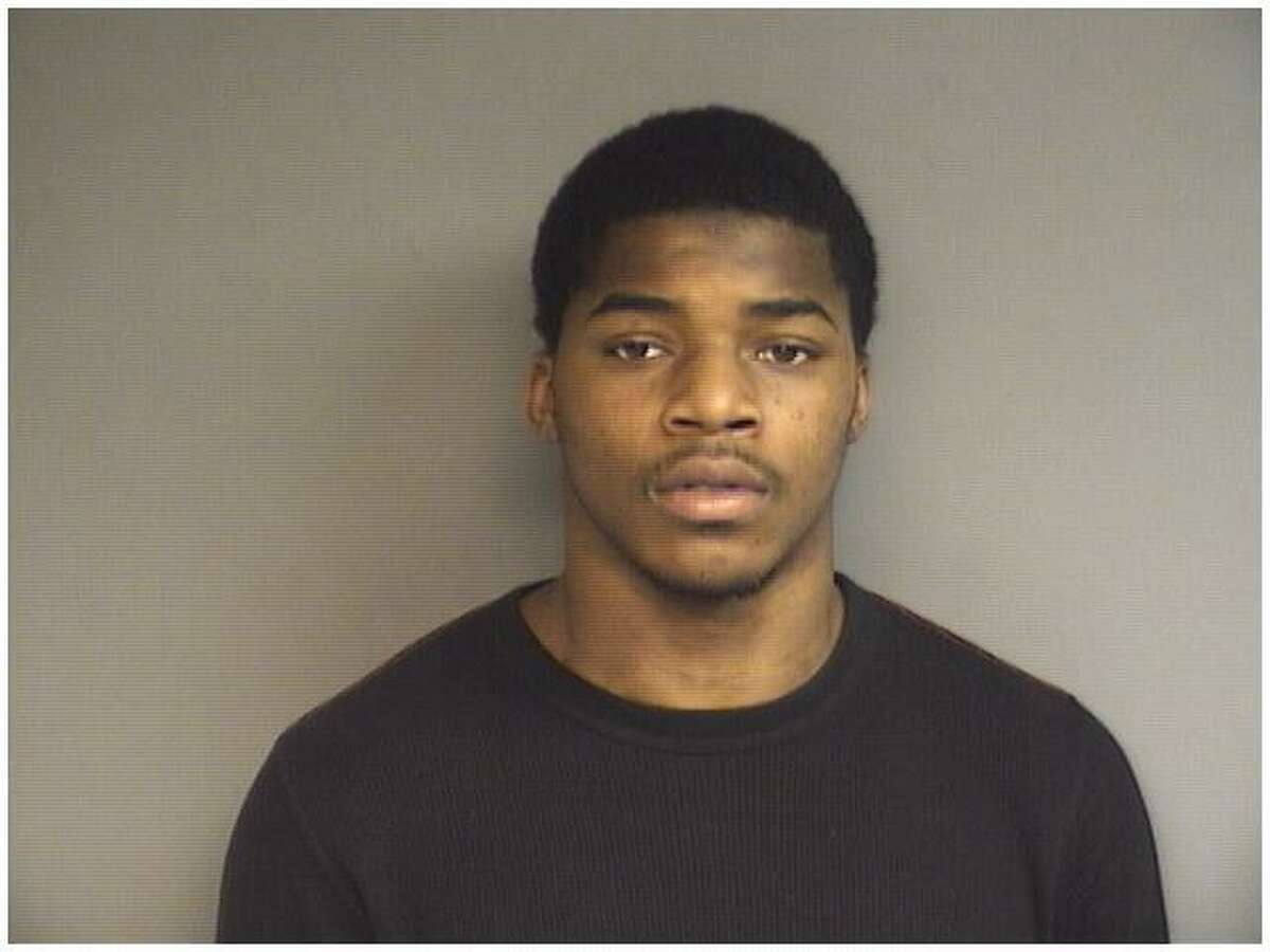 Daquan Wright, 21, of Stamford, was charged with possession of three stolen pistols following a chase onto school grounds on Thursday, April 5, 2018.