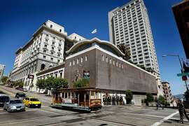 The owners of the Fairmont Hotel are exploring redevelopment plans for the 103-year-old property. The rear corner at California and Powell streets may see the biggest changes Tuesday May 4, 2010