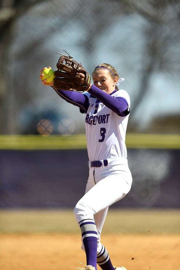 Bridgeport softball player Amanda Staheli. Photo: Bridgeport Athletics