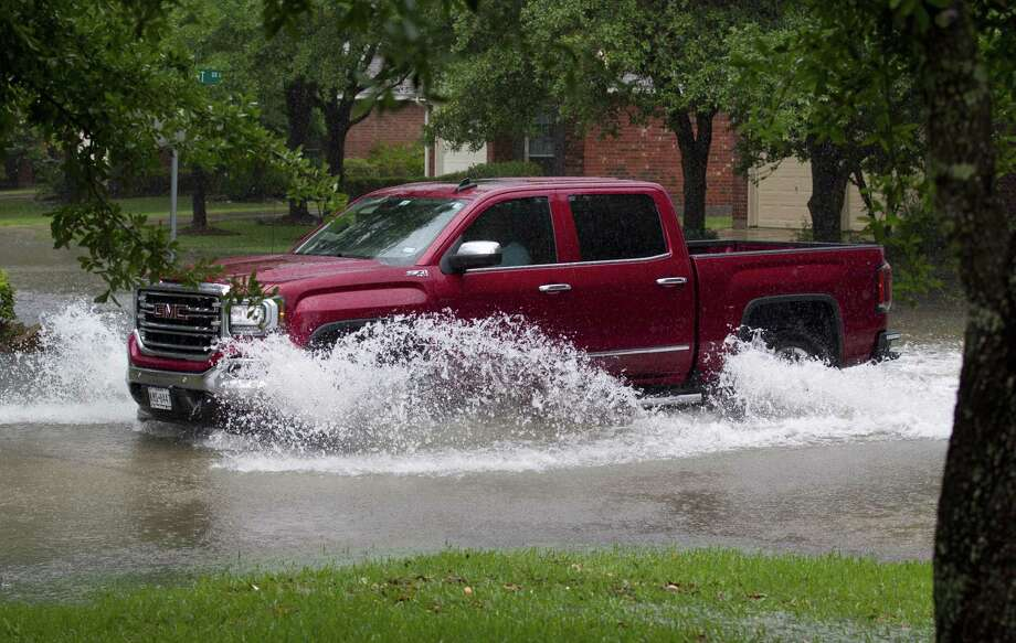 Around 10 inches of rain fell in Kingwood between 7 a.m. Tuesday and 1 a.m. Wednesday, according to the National Weather Service.