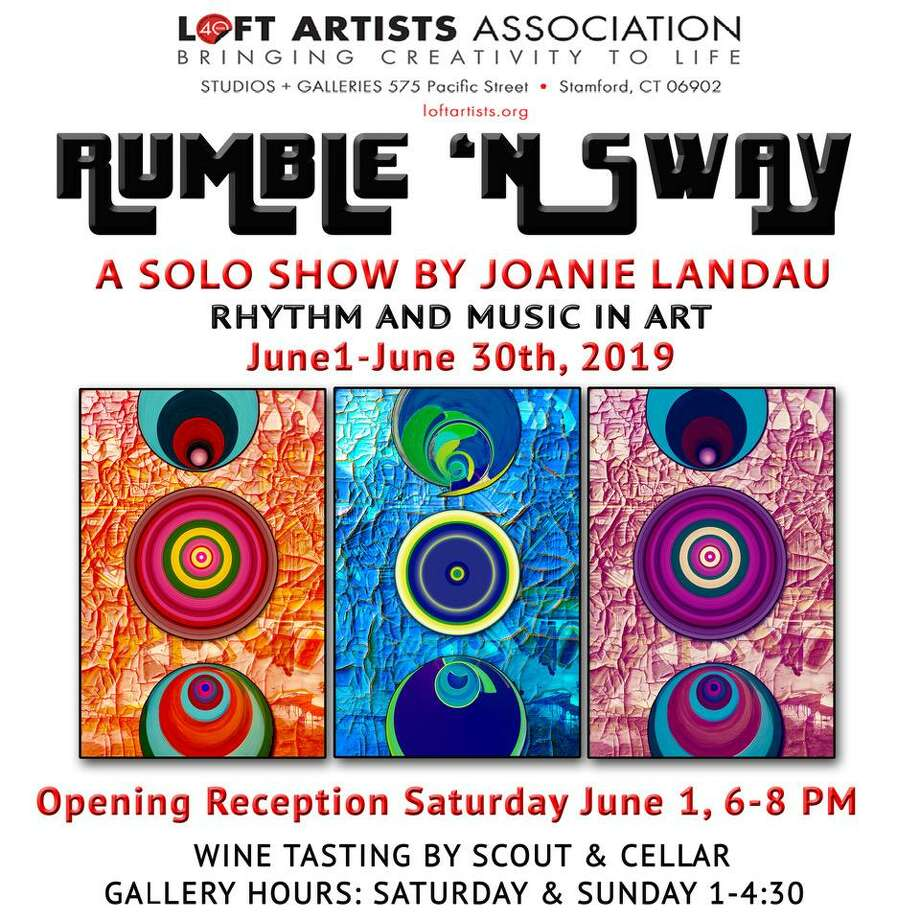 """Rumble 'N Sway"" marks Fairfield artist Joanie Landau's first solo show at Stamford's Loft Artists Association. Photo: Loft Artists Association / Contributed Photo"