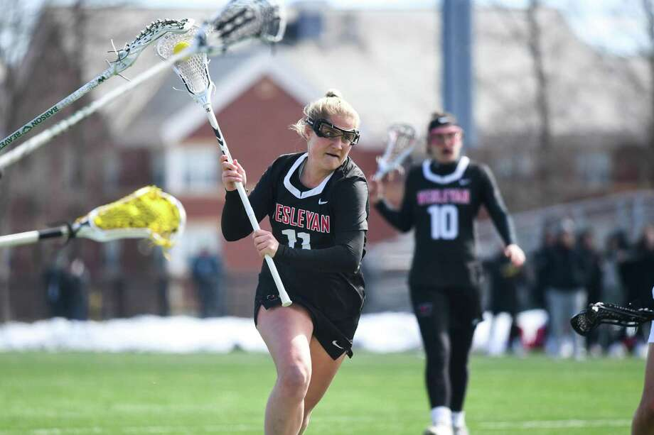Wesleyan lacrosse player Abby Manning. Photo: Wesleyan Athletics