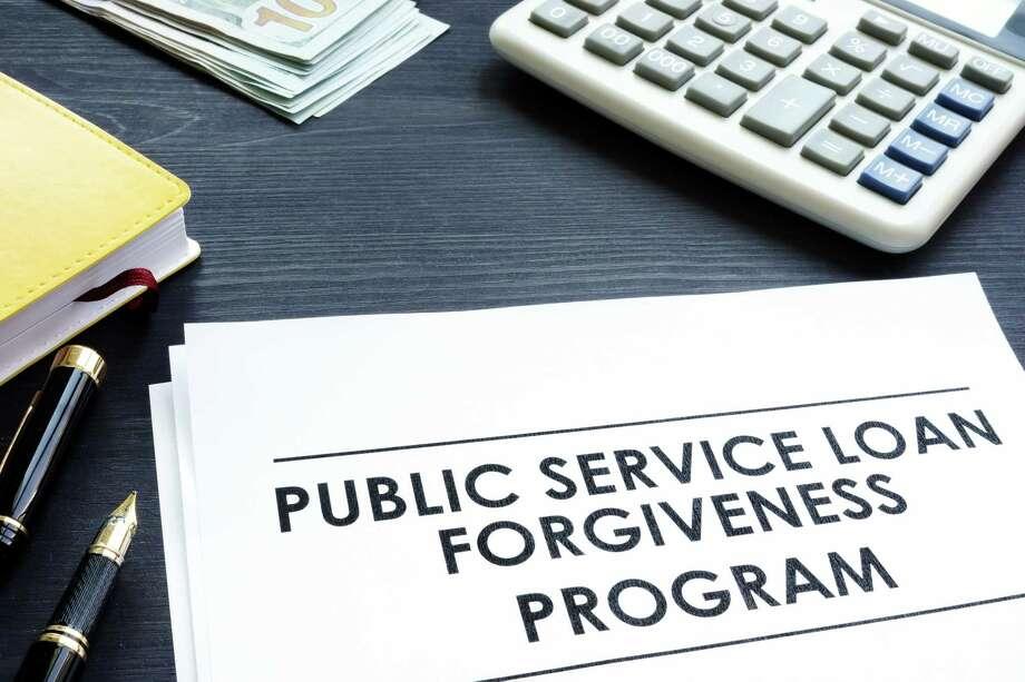 Public Service Loan Forgiveness PSLF Program documents. Photo: Designer491 / iStockphoto