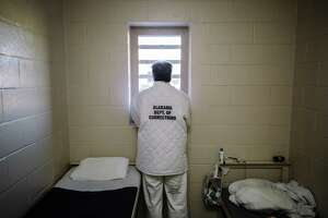An inmate in his cell at the St. Clair Correctional Facility in Springville, Ala., on Feb. 15, 2017. President Donald Trump, admirably, backed the First Step Act that reforms some federal sentencing laws that fed our system of mass incarceration, but it's not enough. Local jails and state prisons hold more people who shouldn't be there.