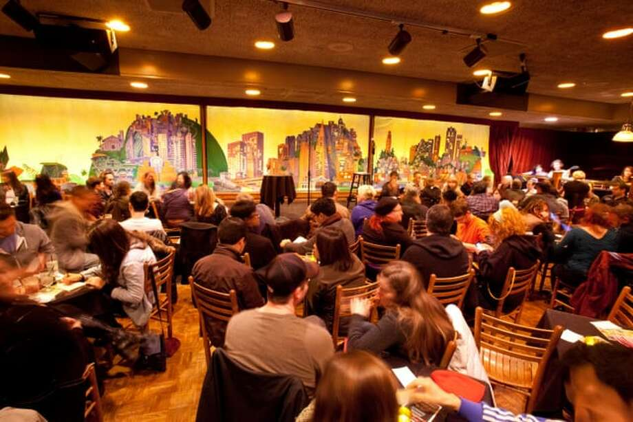 The inside of the Punch Line Comedy Club. Photo: Yelp / The Punch Line