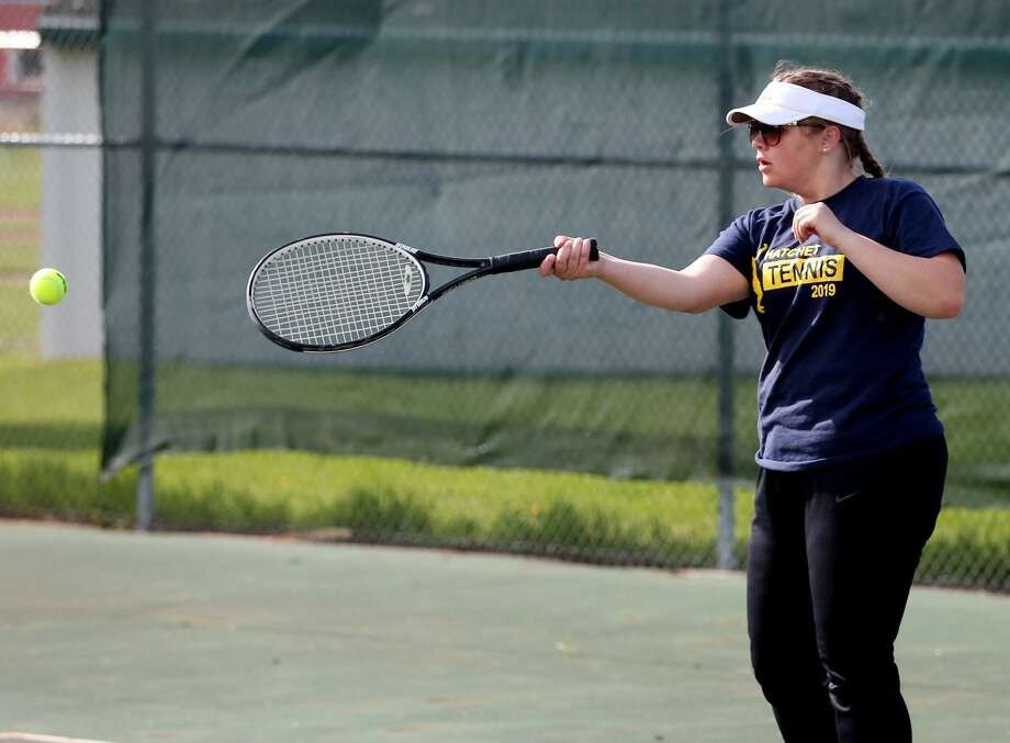 Bad Axe at EPBP — Tennis Photo: Mike Gallagher/Huron Daily Tribune