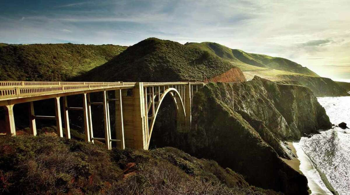 Bixby Bridge on Highway 1 is a highlight of the drive along the Pacific coast near Big Sur, Calif. The area attracts throngs of selfie-takers- and more recently protesters worried about overtourism