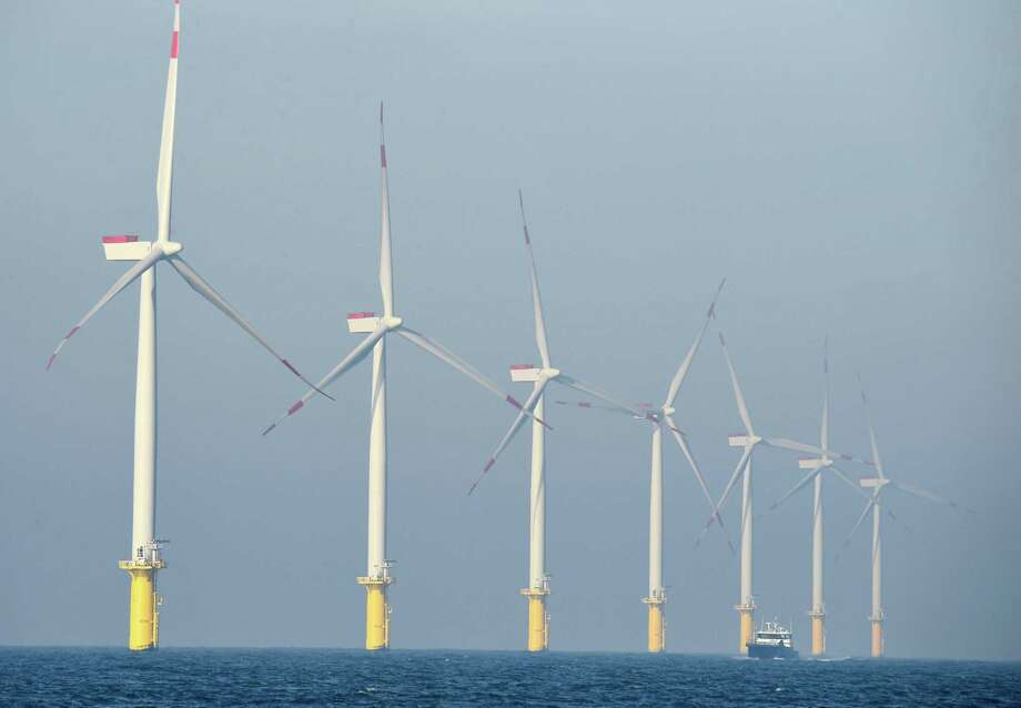 Marine renewables are a major topic at OTC. Photo: TOBIAS SCHWARZ, Contributor / AFP/Getty Images / AFP or licensors