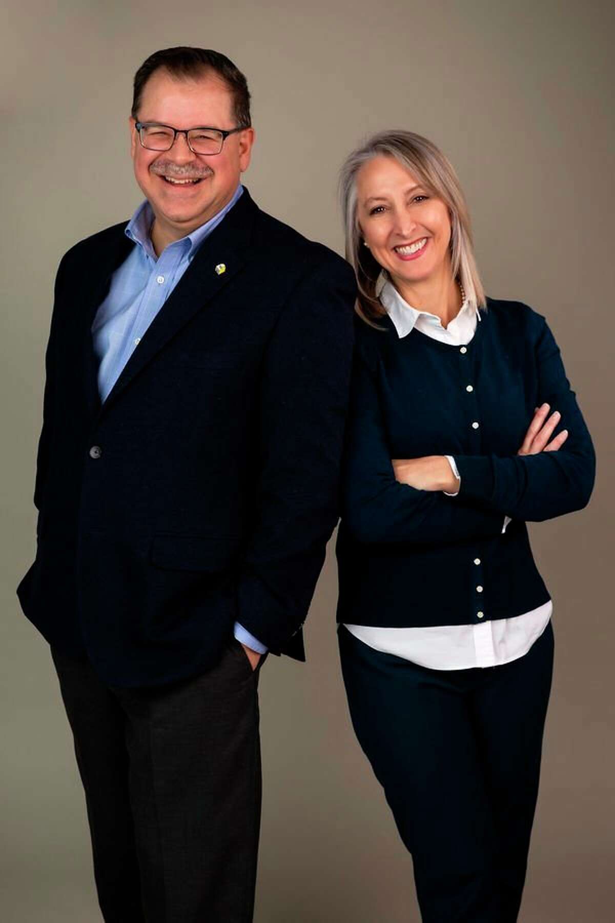 Tina and Jon Lynch of Midland are the honorary chairs of the 2019 Chefs for Shelterhouse fundraiser. The event will take place from 5 to 8 p.m. Thursday, May 9 at The Great Hall. (Photo provided)