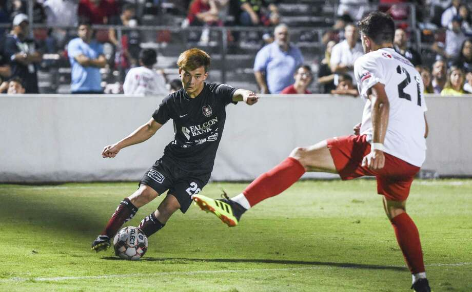 Katsuyoshi Kimishima and the Heat advanced to the second round of the U.S. Open Cup last Tuesday as they defeated Brazos Valley 1-0. Photo: Danny Zaragoza /Laredo Morning Times File