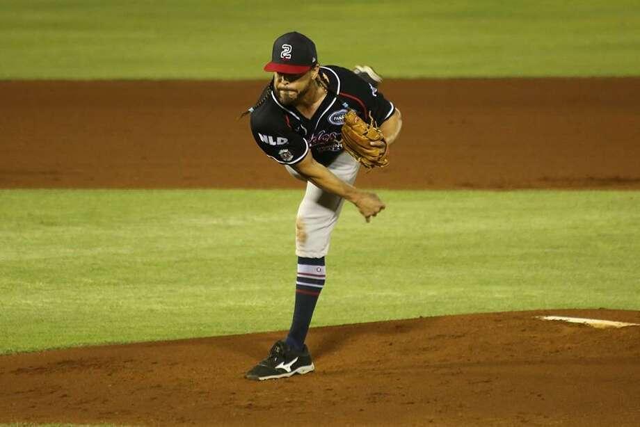 Tecolotes Dos Laredos pitcher Sergio Mitre Photo: Courtesy Of TheTecolotes Dos Laredos