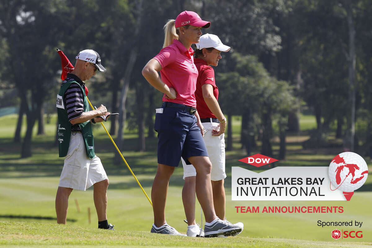 Professional golfers Suzann Pettersen and Catriona Matthew will be one of 72 teams competing at the inaugural Dow Great Lakes Bay Invitational from July 15-20 at Midland Country Club. (Image provided)