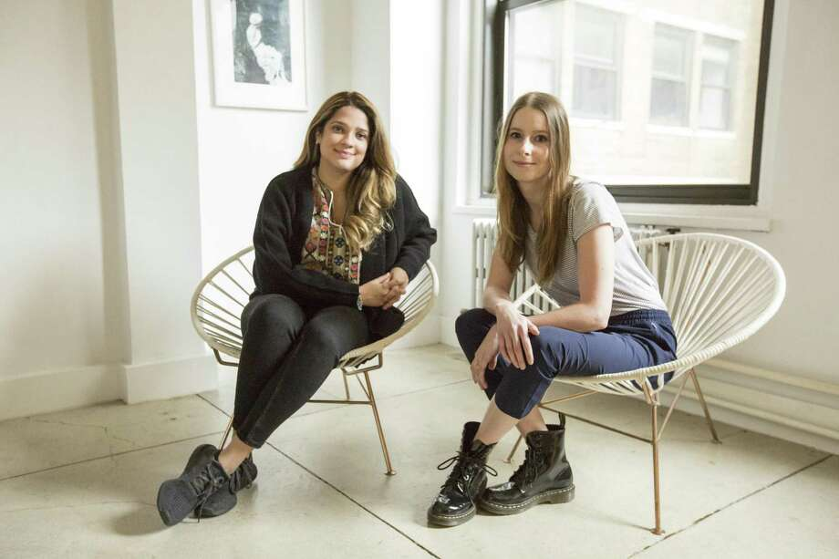 Operations Associate Leti Checo, left, with VANgo founder Marta Jamrozik. Photo: Contributed Photo